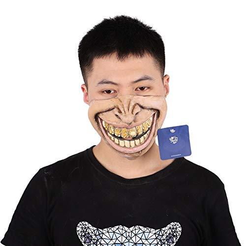 Peanutaod Halloween Maske Terrorist Kostüm Ball Dämon Gas Maske Zombie Undead Latex Kopfbedeckung Party Kultur Maske