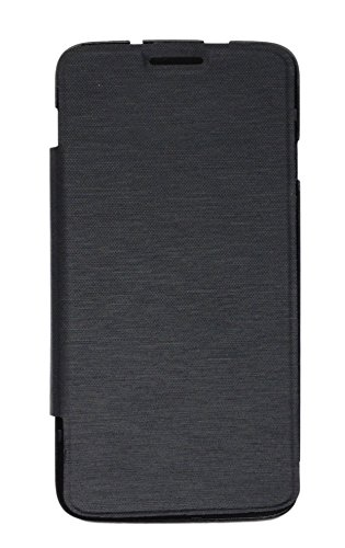 Sun Mobisys™; Micromax Canvas Juice A77 Flip Cover; Flip Cover Case for Micromax Canvas Juice A77 Black  available at amazon for Rs.169
