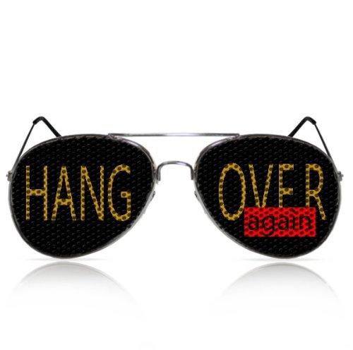 Partybrillen und Promotionbrillen Fasching Spassbrille JGA Zubehör Funbrille mygafas - Hangover again (PILOT)
