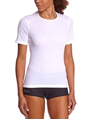Odlo Damen Shirt Short Sleeve Crew Neck Warm von Odlo auf Outdoor Shop