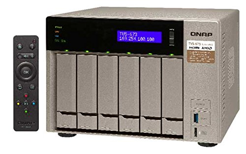 Preisvergleich Produktbild Qnap TVS-673-64G 6-Bay NAS Bundle 48TB mit 6x 8TB WD8001FFWX Red Pro
