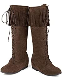 Amazon.it  frange - Fibbia   Stivali   Scarpe da donna  Scarpe e borse 6d921aeb8ff