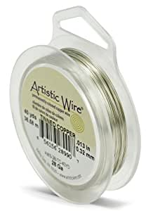 Artistic wire gauge 28 tinned copper wire 40 verges artistic by wire