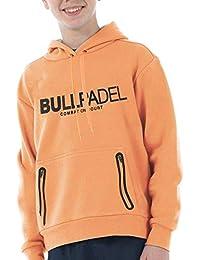 Bull padel Sudadera BULLPADEL ORTEX J Naranja Fluor