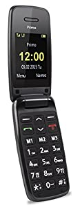 Doro Primo 401 UK SIM-Free Mobile Phone - Black