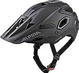 Alpina Unisex– Erwachsene ROOTAGE Fahrradhelm, Black, 52-57 cm