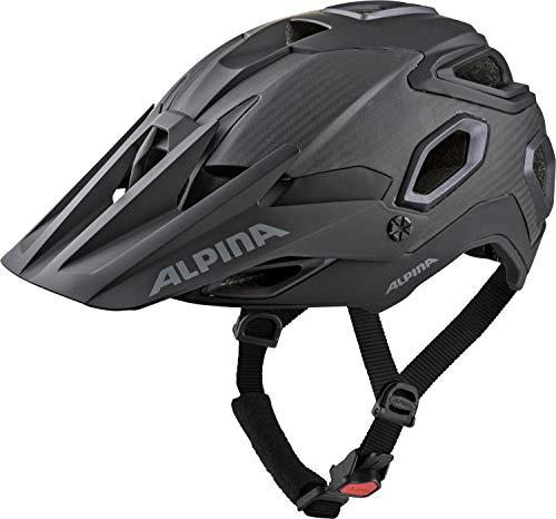Alpina Rootage Fahrradhelm, Black, 57-62 cm