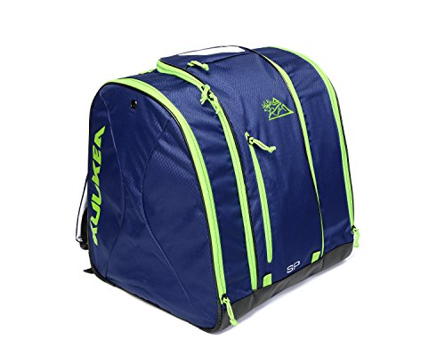 Kulkea Speed Pack Ski Boot Bag–53L, Unisex, Smoke Blue/Green