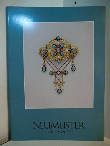 Neumeister Auktion S 3 am 14. November 1990. Schmuck, Taschenuhren, Dosen u.ä.