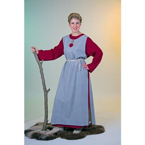 Festartikel Müller Karneval Damen Kostüm Wikinger Frau oder Bauernkleid Größe (Wikinger Frau Kostüm)