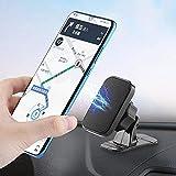 حامل هاتف السيارة المغناطيسي KUNOOZ - ملحقات السيارة لتثبيت لوحة القيادة - حامل هاتف مرن للوحة القيادة متوافق مع جميع الهواتف