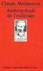 Anthropologie de l'esclavage de Claude Meillasoux