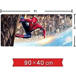 PXYUAN - Alfombrilla Antideslizante para ratón de Escritorio, diseño de Spiderman