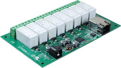 16 Amp relè a 8 canali, modulo Ethernet