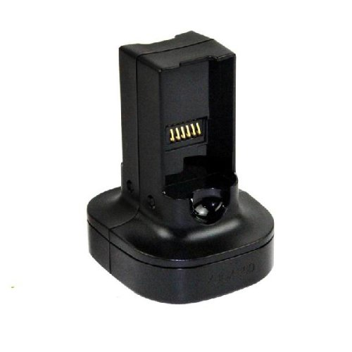 Generic Universal Quick Battery Pack Charger Dock Compatible for Microsoft Xbox 360 Controller Color Black [Importación Inglesa]