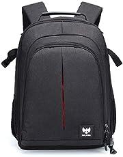 FUR JADEN DSLR SLR Camera Lens Shoulder Laptop Backpack for Canon Nikon Sigma Olympus with Tripod Holder 25 Ltrs (BM41_Black)