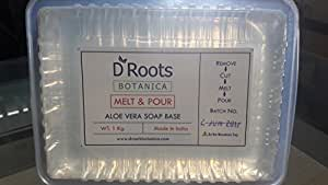 Roots Botanica Aloe Vera Clear Melt and Pour Soap Base