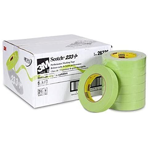 Scotch?'?? Performance Masking Tape 233+, 24mm x 55m (MMM26336) Category: Bodywork Masking Tape by 3M by 3M