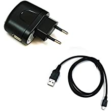BG akku24caricabatterie e cavo di ricarica, cavo dati, cavo USB per Nikon Coolpix A900, B700, S33, S5300, S9600, S9700, S9900, S810C, S6800, S7000, AW120, AW130, P340, P600, P610, P900–UC-E21