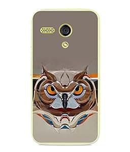 PrintVisa Designer Back Case Cover for Motorola Moto G :: Motorola Moto G (1st Gen) :: Motorola Moto G Dual (Assertive no sleep in night grey background)