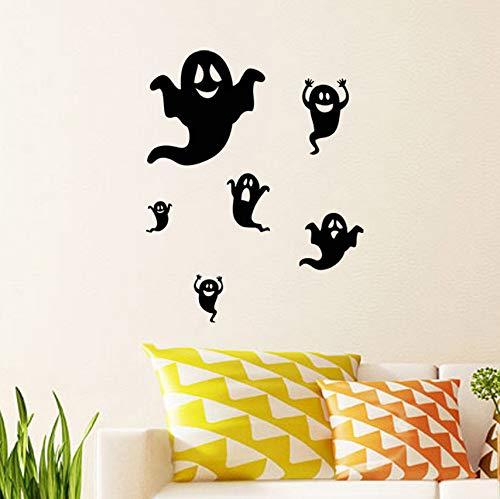 Halloween-Hintergrund-Wand-Dekorations-entfernbare Wand-Aufkleber (Abc Um Halloween)