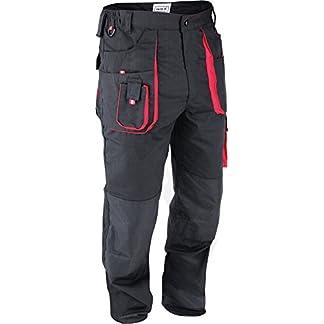 Yato Trabajo Pantalones Ropa De Trabajo Seguridad Pantalones Negro Nuevo Tamaño S–XL