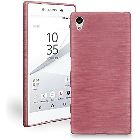 Cover per Sony Xperia Z5 Compact in silicone e TPU Cover Bamper Smartphone protezione custodia per Smartphone numerva di protezione in silicone/TPU faddist - Precisione Compact