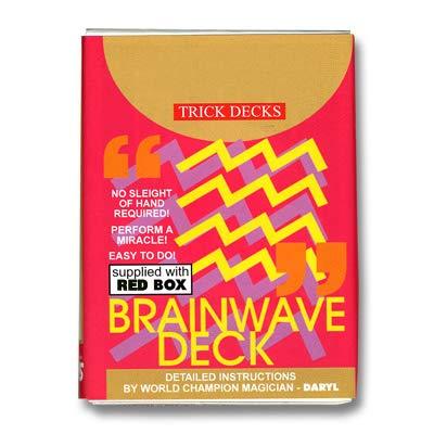 ProTriXX Bicycle Brainwave Deck, Mental-Zaubertrick mit deutschsprachiger Anleitung von Its Magic | Mentalmagie-Kartenspiel für Zauberkasten | Kartentricks
