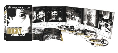 MGM Home Entertainment GmbH (dt.) Rocky Anthology (Ultimate Edition) [6 DVDs]