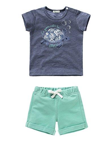 united-colors-of-benetton-set-camiseta-y-pantalon-corto-beb-nios-color-multicolor-white-orange-talla