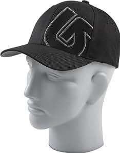 Burton Herren Mütze Mens Slidestyle Flexfit, True Black, 1SZ, 11348101002