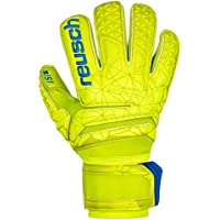 Reusch Fit Control S1 Roll Finger - Guanti da Portiere da Uomo, Uomo, 3970237, Lime/Safety Yellow, 9