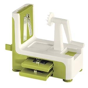 Lurch 10306 Vegetable Spiralizer Green