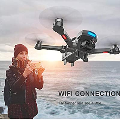 TONSEE-Electronics Quadcopter Drone, Remote Control Helicopter Camera, CG033 Brushless 2.4G FPV Wifi HD Camera GPS Altitude Hold Drone (B)
