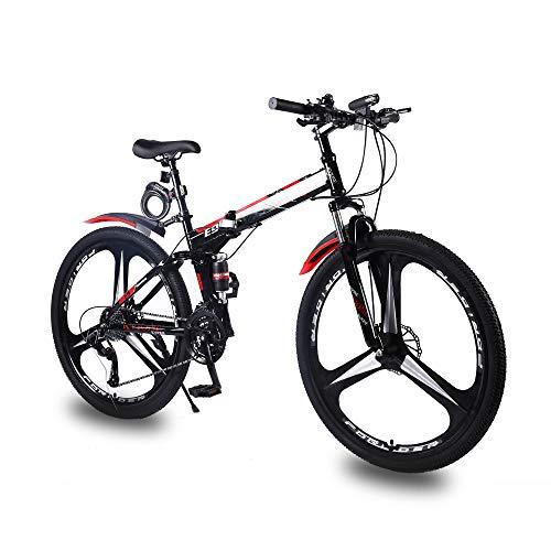 KVIONE E9 Bicicleta Hombre De 27 Velocidades Bicicleta 29 Pulgadas Bicicleta De Montaña De Acero De...