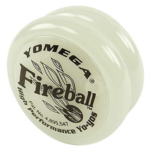 Yomega Fireball Leucht Yoyo - Kinder Spielzeug Profi Trick Jojo Transaxle Fireball weiß