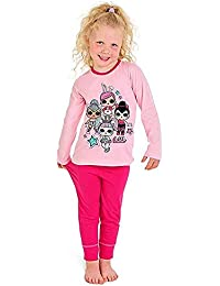 L.O.L Surprise Dolls Pijama para niñas Soft Cotton PJs Pijamas Confetti Pop Pjs Lil Sisters