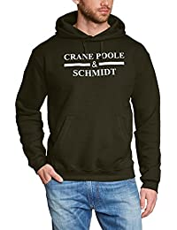 Boston Legal Hooded Sweatshirt with Crane Poole & Schmidt Text