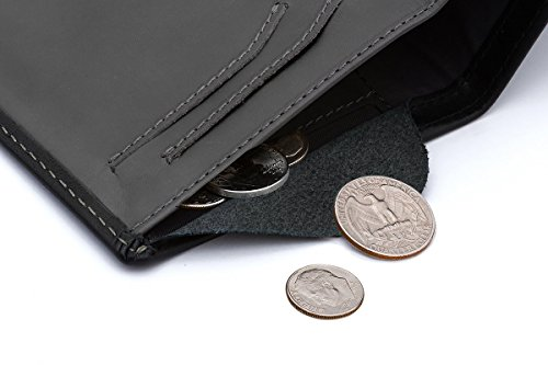 Bellroy Leather Note Sleeve Wallet Black – RFID