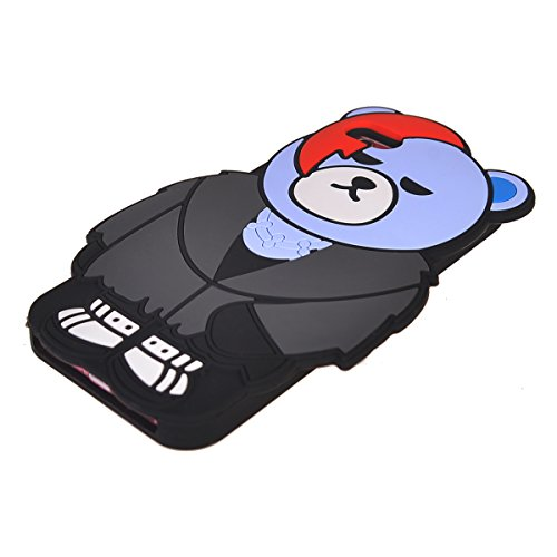 iPhone 6/ 6S Coque,COOLKE Mode 3D Style Cartoon Gel Soft silicone Coque Housse étui Case Cover Pour Apple iPhone 6/ 6S (4.7 inches) - 007 003