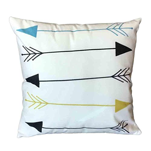 DEFFWB Pillow Cases, Clearance Sale! Sofa Bed Home Decoration Festival Pillow Case Cushion Cover (D)