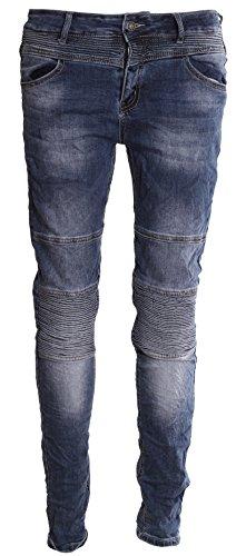 BASIC.de Pantaloni aderenti modello Biker jeans M