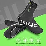 Volwco - Cubiertas para Zapatos de Bicicleta, a Prueba de frío y Resistente al Agua, diseño Reflectante, XL
