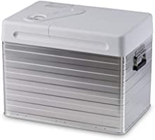 Draagbare thermo-elektrische aluminium koelbox.