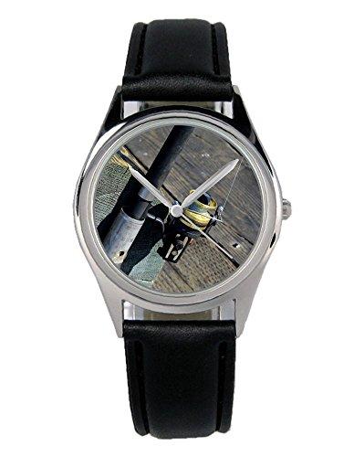 Angel Angelrolle Geschenk Fan Artikel Zubehör Fanartikel Uhr B-2795