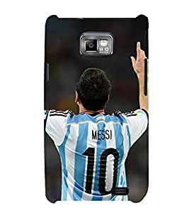 Takkloo Sportsman footballer,player playing football, Sport for everyone, A famous sportsman, amazing picture of a footballer) Printed Designer Back Case Cover for Samsung Galaxy S2 I9100 :: Samsung I9100 Galaxy S Ii