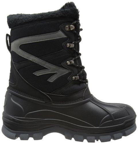 Hi-Tec Avalanche, Chaussures de randonnée/trekking homme Noir - Noir/gris