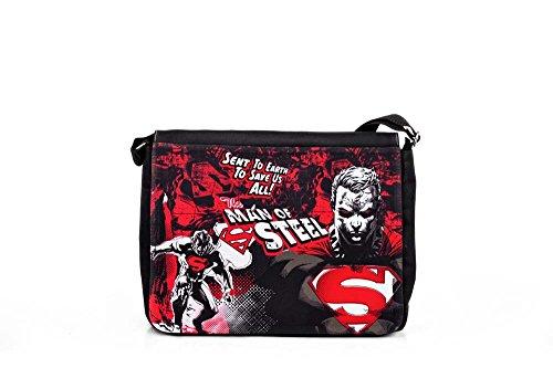 Superman - Borsa tracolla - Porta documenti - Man of Steel - L'Uomo d'Acciaio