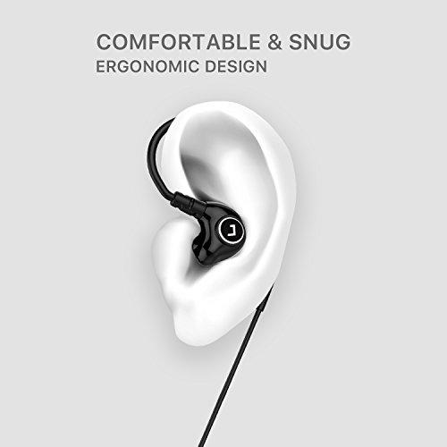 Jayfi JET-830 Geräusch-Isolierung Stereo Ohrhörer In-Ear-Kopfhörer Erinnerungsohrhaken mit Draht - 3