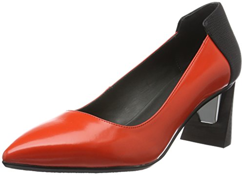 United nude Suze, Escarpins femme Rouge - Rot (POPPY Red)
